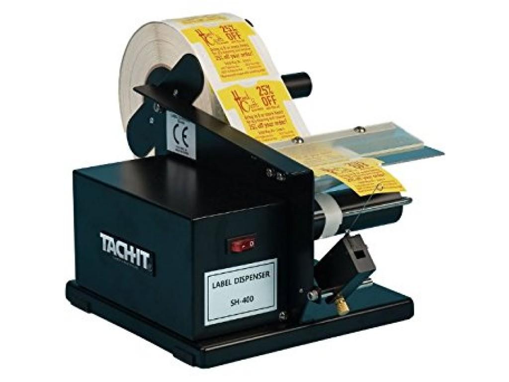 Tach-It SH400 Economical Semi-Automatic Label Dispenser