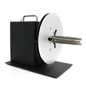 เครื่องม้วนฉลากสินค้า อัตโนมัติ แกน 1 นิ้ว-3 นิ้ว ความกว้างฉลาก 100 มม.