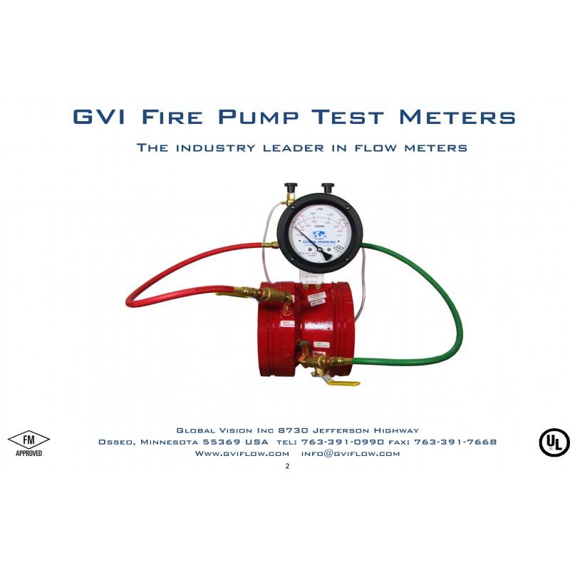 "Fire Pump Test Meter ""GVI"""