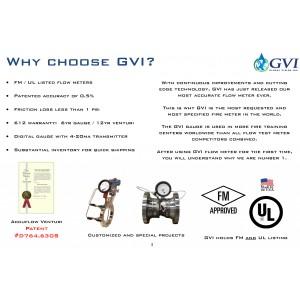750GPM UL Flow meter GVI