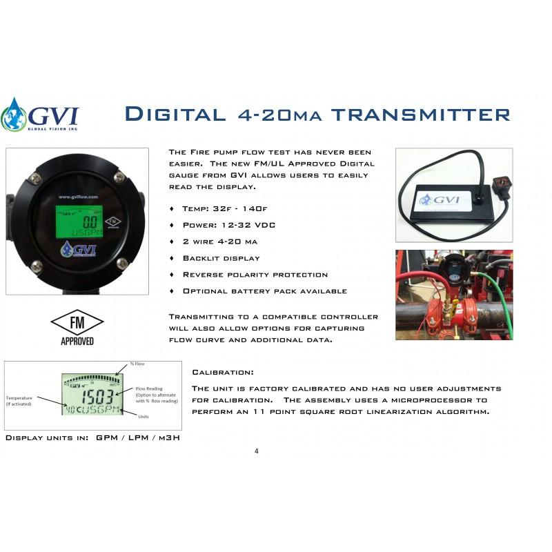 GVI Fire pump Test Meters
