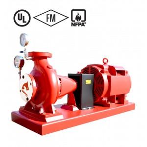 ปั๊มน้ำมอเตอร์ไฟฟ้า ABB 55Kw ปั๊ม 8*6 นิ้ว