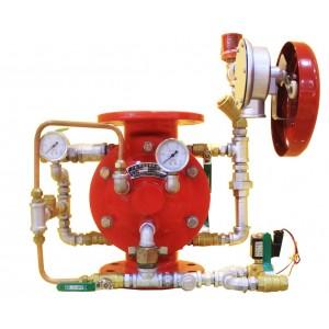 Deluge alarm valve