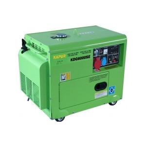 เครื่องกำเนิดไฟฟ้าดีเซล 5 Kw KDG6000SE
