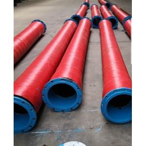 ท่อยางส่งน้ำตัวหนอน 12 นิ้ว ยาว 6 เมตร