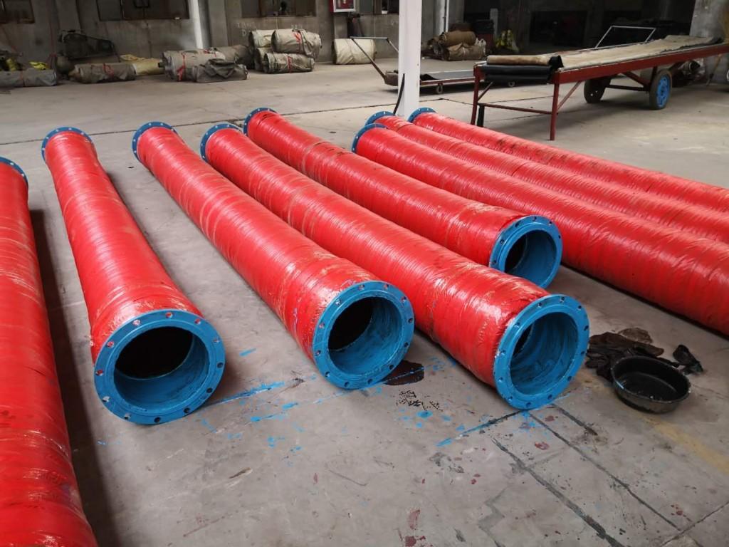 ท่อยางส่งน้ำ ตัวหนอน 12 นิ้ว